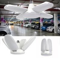 السوبر مشرق الإضاءة الصناعية 60W E27 LED مروحة ضوء المرآب 6000LM 85-265V 2835 LED عالية الخليج مصباح الصناعي ل ورشة