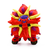 New Red Solgaleo Pikachu Soft Toy Plush Doll Collection For ...