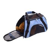 Folding Pet Carriers Bag Slung Dog Transport Outdoor Bags Fashion Dogs Basket Handbag ST386