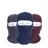 2019 Venda Quente Ciclismo Máscara Facial Esqui Pescoço Protegendo Balaclava Ao Ar Livre Máscara Facial Completa Ultra Fino Respirável À Prova de Vento