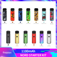 Original Nord Starter Kits 1100mAh Batterie 3ml Mesh 0,6 Ohm Coil Pod Patrone Vape Pen Kit 100% Authentisch