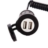 Enchufe del interruptor del encendedor de cigarrillos del automóvil Enchufe del encendedor de cigarrillos estándar de los EE. UU. Para doblar el cargador USB con control de interruptor