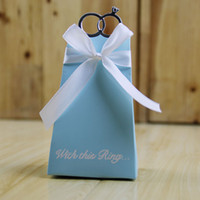100 PC Pirâmide Triangular Anel Caixa Do Favor Do Casamento Doce graduação diy Chuveiro Do Bebê Doce Amor caixa de presente da festa de aniversário