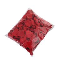 장미 꽃 꽃잎 판매 1000PCS를위한 / 많은 인공 꽃 꽃잎 붉은 장미 꽃잎 인공 실크 장미 꽃 꽃잎 결혼식 호의