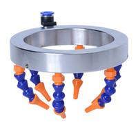 Anpassbare Universal-Wassersprühringschneider Runde Düse Wasserkühlung Kühlmittelrohr Kunststoffschlauch für CNC-Fräserspindel Teile