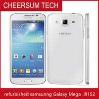 الأصلي سامسونج غالاكسي ميجا 5.8 i9152 3G الهاتف الخليوي 5.8inch ثنائي النواة android4.2 1 جرام رام 8G ROM