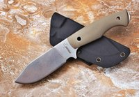 bo-ker Alemanha Boy Scout faca de lâmina reta fixa D2 60HRC G10 alça faca de caça ferramentas multi xmas faca presente 05.159