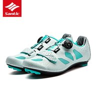 Santic Women Road Cycling Shoes TPU Wear- resisting Road Bike...