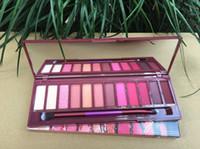 Ücretsiz Kargo ePacket Yeni Makyaj Gözler Sıcak Marka Çıplak Kiraz Göz Farı Paleti 12 Renkler Göz Farı!