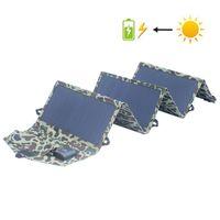 Chargeur solaire 40W Portable chargeurs de batterie de panneau solaire 5V 3A 18V charge pour les téléphones mobiles Tablet ordinateur portable batterie de la banque