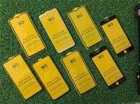 9d 6d 5d temperli cam telefonu ekran koruyucu 3d kavisli kenar tam kapak ile iphone için tam yapıştırıcı tutkal