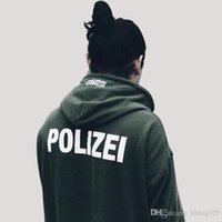 Vetements POLIZEI Print Hoodie Men Women Oversized Pullover ...