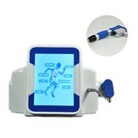 La más nueva máquina de terapia de ondas de choque Dispositivo extracorpóreo de ondas de choque Equipo de sistema de alivio de alivio del alivio del dolor físico muscular artritis acústica