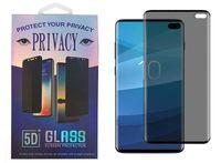 3D Tam Kapak Gizlilik Ekran Koruyucu Kılıf Dostu Anti-Spy temperli cam Samsung Galaxy Note için 10 S10 not 9 S8 S9 Artı