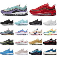 Nike air max 97 off white sale Hot Undefeated ultra Scarpe da corsa verde menta SE Donna Uomo Casual Maxes mens formatori Designer Sport Sneakers 36-45