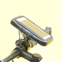 Sac de guidon vélo Téléphone portable étanche Pouch vélo moto Téléphone Mont Support pour Smartphone jusqu'à 6,3 pouces