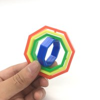 Colorful Magic Loop Circles Finger Toys Learning Educational...