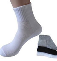 Hot Men Athletic Socks Sport Basketball Long Cotton Socks Ma...