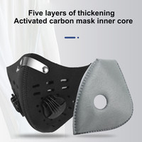 5 Layers Mask Pad Cycling Masks Filter Against Wind Dust- pro...