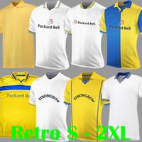 1997 1998 1999 LEEDS RETRO SOCCER JERSEYS United Vintage Home White LUFC 2000 2002 Vintage Classique Shirts Football Kits de football