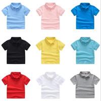 Calidad de lujo niños polos ropa niños niños niños camisa grande tops estudiantes estudiantes camisetas camisa casual camisetas trajes -140cm xzt081b