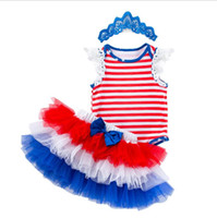 Kids Designer Clothes 4th Of July Newborn Baby Girl Clothing...