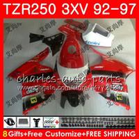 Karosserie für YAMAHA TZR 250 TZR250 3XV 92 93 94 95 96 97 YPVS RS 119HM.86 TZR250RR TZR-250 1992 1993 1994 1996 1996 Verkleidungslicht rot