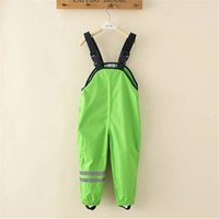 New 2019 Spring And Autumn Overall children boy girl clothin...