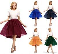 주식 짧은 얇은 웨딩 신부 Petticoat Crinoline 여성 투투 스커트 웨딩 액세서리 Jupon Mariage CPA1847