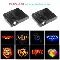 1pcs Wireless LED Car Porte de voiture Bienvenue Projecteur laser logo Ghost Shadow Light pour Volkswagen Ford BMW Toyota Hyundai Kia Mazda Audi