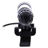 WEB камера USB Камера высокого разрешения веб-камеры 360 градусов MIC Clip-на для Skype компьютера PC Laptop камеры