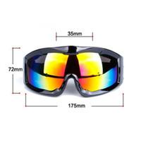 الكبار الشتاء دراجات رجل إمرأة المضادة للضباب دراجات التزلج على الجليد نظارات نظارات نظارات واقية 100٪ المضادة للأشعة فوق البنفسجية نظارات MTB