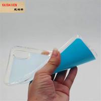 Cubierta de TPU de silicona suave de sublimación en blanco 2D para iphone 11 Pro Max XR Xs max 6 6s 7 8 plus con placas de inserción de PET suave