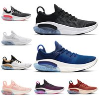 Nike Joyride Run New Arrival Cheap Joyride Run FK Mens Womens Knit Running Shoes Platinum Tint Triple Black University Red Racer Blue White Sports Trainers