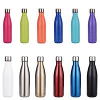 17 Unzen Edelstahl Cola Flasche Doppelwand Vakuum Wasserflasche Leckdicht Hält Heiß- und kalte Getränke für Outdoor-Sports Camping