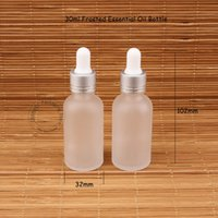Glass 30ml Essential Oil Bottle Frosted Dropper Pot 1OZ Wome...