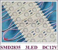 Injection Super LED Module LED Lumière DC12V 1.2W 3LED 150LM IP65 60mm * 13mm Aluminium PCB Super lumineux Module de LED haute lumineux