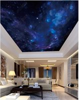 Wholesale- Interior Ceiling 3D wallpaper custom murals wallpa...