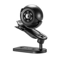 20pcs SQ6 Kamera Küçük Kamera Doğa Sporları DV 1080P HD Mini Kamera Gece Görüş Monitörü Mobil Algılama Gönder Parantez