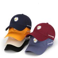 Venta caliente para hombre Sombreros última moda casual Cap Carta bordado gorras de béisbol ajustables de algodón con 6 colores Streetwears