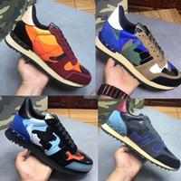 2020 Nova caipira designer de tênis Casual Shoes Designer de sapatos de alta qualidade Speed Triple instrutor Casual Botas Mulheres com Rockrunner Camouflage