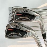 ferros clubes clubes New Golf HONMA TW747p Ferro 4-11SW golfe Grafite eixo R ou S Flex Golf acessório Frete grátis