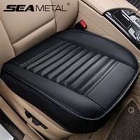 Seggiolino Auto rivestimenti in pelle del sedile PU universale copertura Four Seasons Vetture federe Auto Interni Accessori Mat Protector