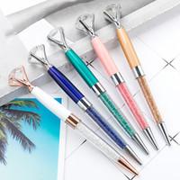 Renkli Elmas Kalem Büyük Kristal Kalem Elmas Tükenmez Kalemler Kırtasiye Ballpen Yağlı Döndür Twisty Siyah Dolum Ücretsiz DHL