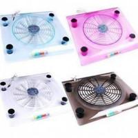 Trasparente computer di grandi dimensioni base di fan notebook dissipazione di calore del radiatore di raffreddamento di base dono speciale Laptop Cooling Pad