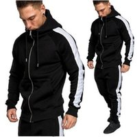 Plus Size Mens Hoodies Jacket Autumn spring Zipper Print Swe...