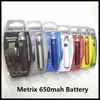 Metrix Vape Battery 650mAh Rechargeable Vape Pen Charger Kit...