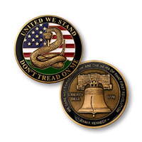 GLSY Don' t Tread on Me - Liberty Bell Challenge Coin Un...