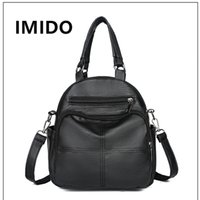 IMIDO 2019 New Fashion Single Shoulder Slant Splice Designer...