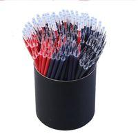0.5mm pluma de gel de recarga Colorido pintura de tinta gel recargas de bolígrafos Escuela de escritorio de la escritura del estudiante Refill IIA84